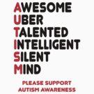 Autism Awareness Shirt by Sarah  Eldred