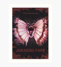 Jurassic Park alt Movie Poster Art Print