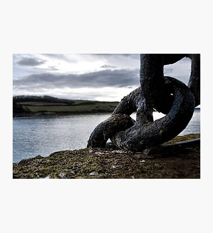 Harbour Links Photographic Print