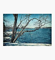 Neverending winter Photographic Print