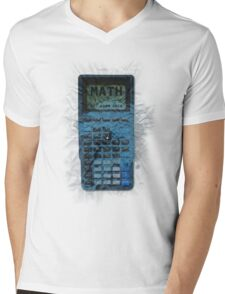 Math: Not Even Once Mens V-Neck T-Shirt
