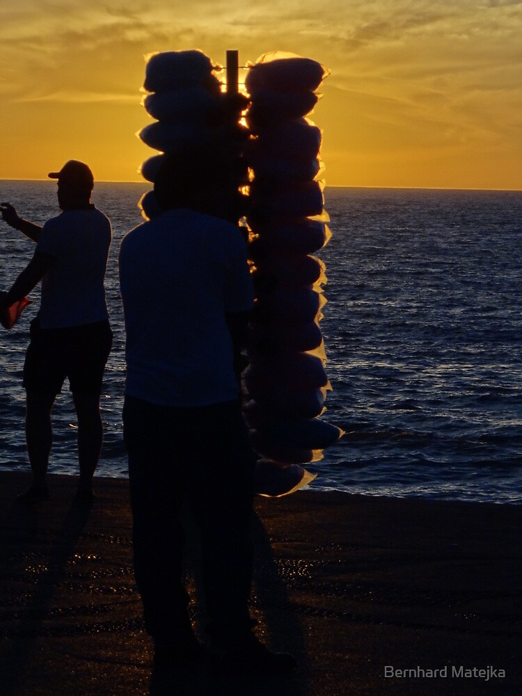 Sunset I - Puesta del Sol by Bernhard Matejka