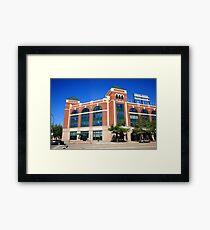 Texas Rangers Ballpark in Arlington Framed Print