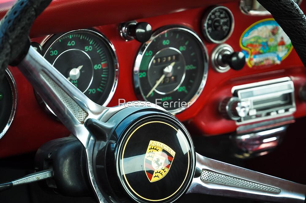 Porsche 356 Steering Wheel by Reese Ferrier