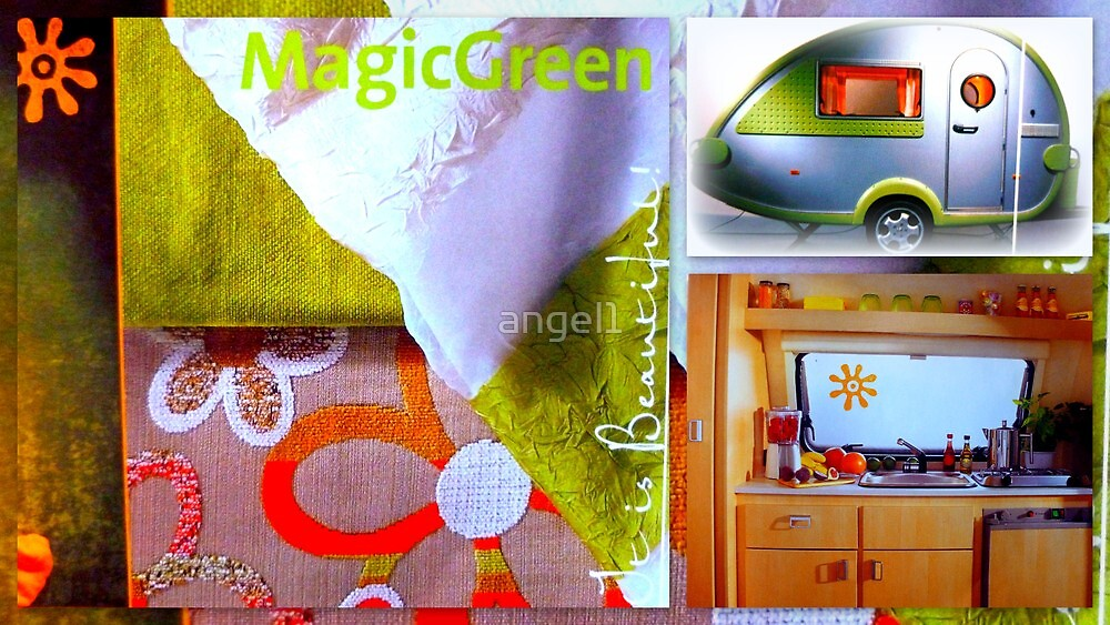 T@B Magic green by ©The Creative  Minds