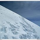 climbing western breithorn by paolo amiotti