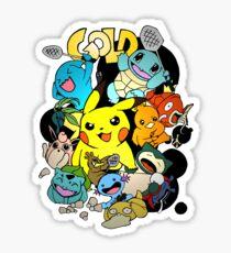 Gold Elite Team  Sticker