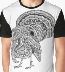 Ornate Turkey Graphic T-Shirt