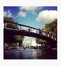 Camden Town Bridge Photographic Print