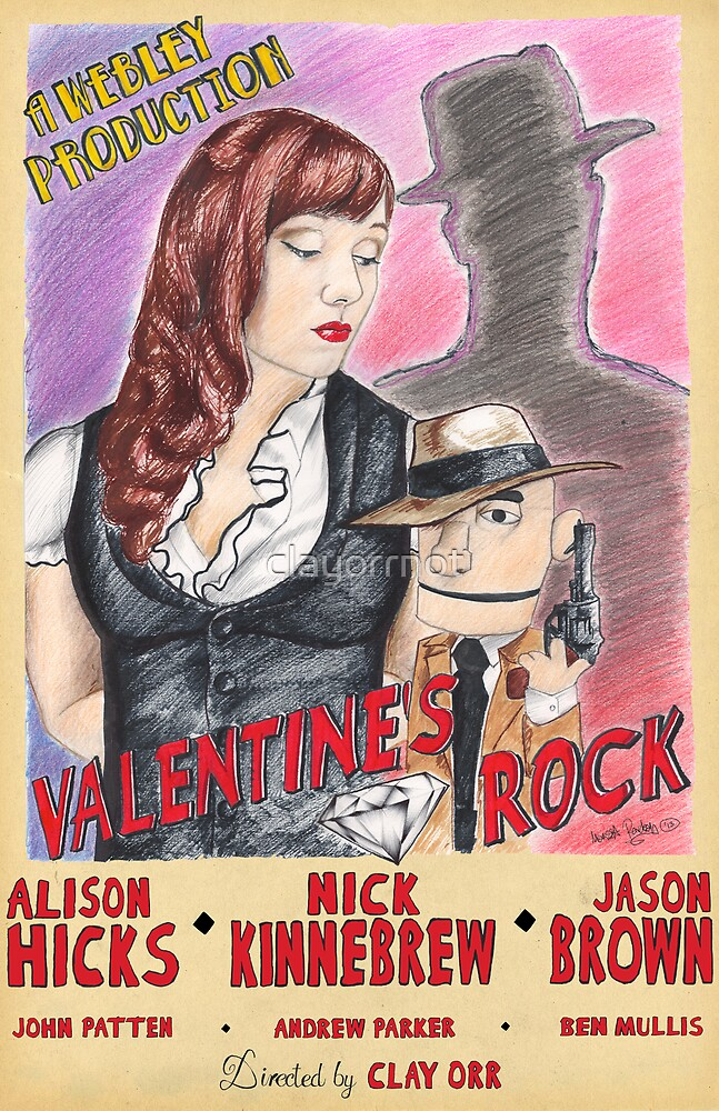Valentine's Rock by clayorrnot
