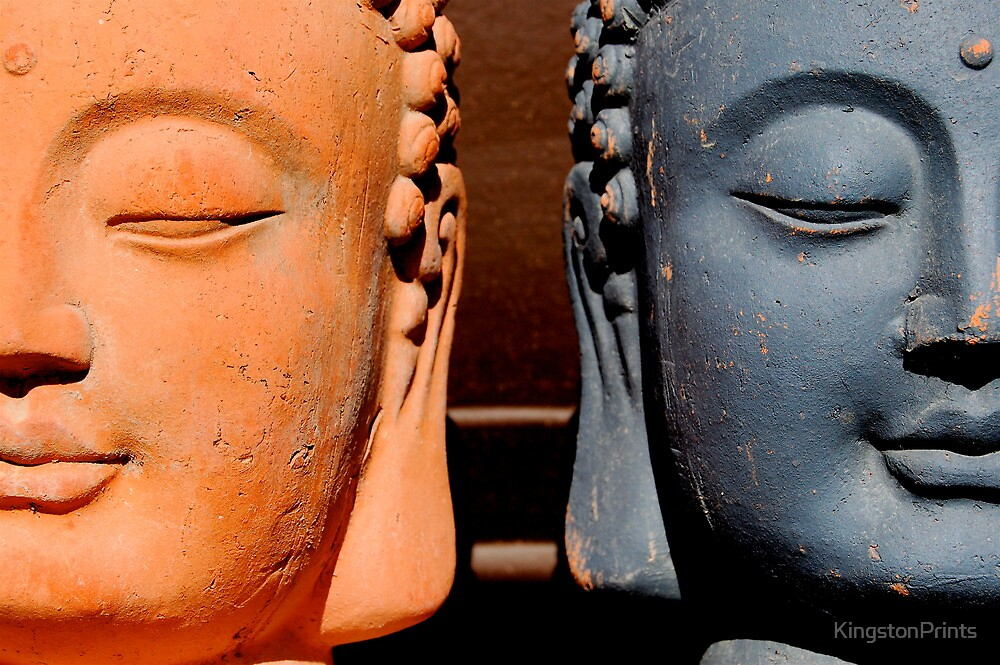Buddhas by KingstonPrints