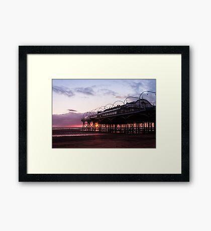 The Pavilion Sunrise Framed Print