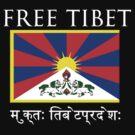 FREE TIBET by Jaime Cornejo