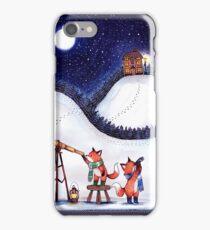 Santa Stop Here iPhone Case/Skin