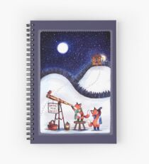 Santa Stop Here Spiral Notebook