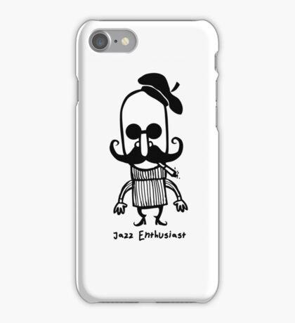 Jazz Enthusiast. iPhone Case/Skin
