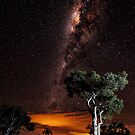 Milky way over Karijini by Colin White
