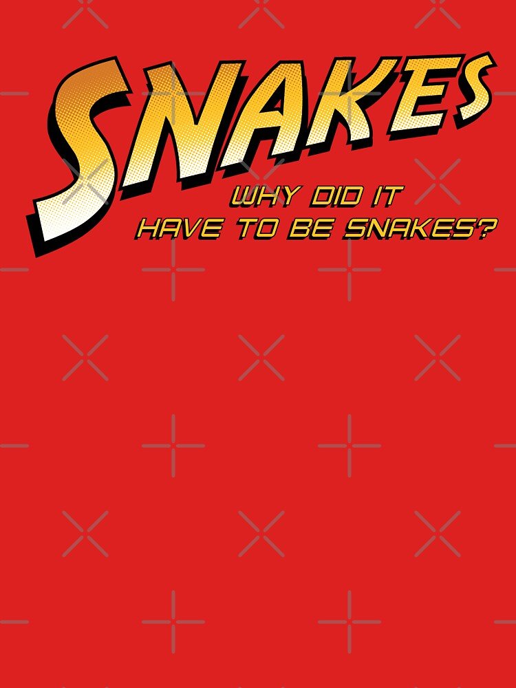 Why Did It Have To Be Snakes? by mannypdesign
