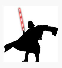 Darth Vader shadow style Photographic Print