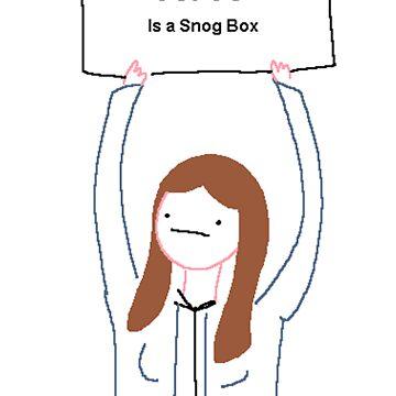 Snog Box by HairandGlasses