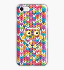 Knitted Owl iPhone Case/Skin