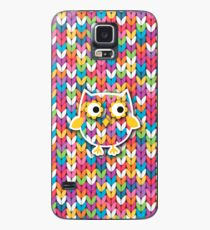 Knitted Owl Case/Skin for Samsung Galaxy