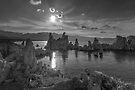 Mono Lake Sunset  by photosbyflood