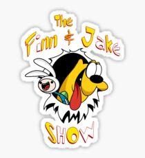 The Finn & Jake Show Sticker