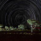 Star trails, Eco resort camp Karijini by Colin White