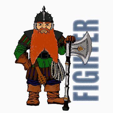 Dwarf Fighter by katdb