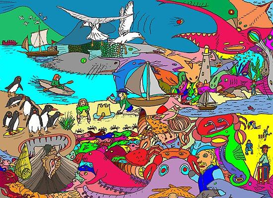 Life's a Beach by David Fraser