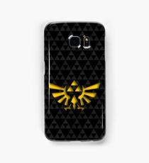 Triforce with background Samsung Galaxy Case/Skin