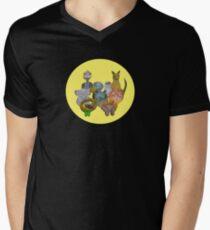 Australian animals Men's V-Neck T-Shirt