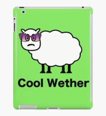 Cool Wether iPad Case/Skin