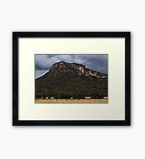 Mountains At Glen Davis Framed Print