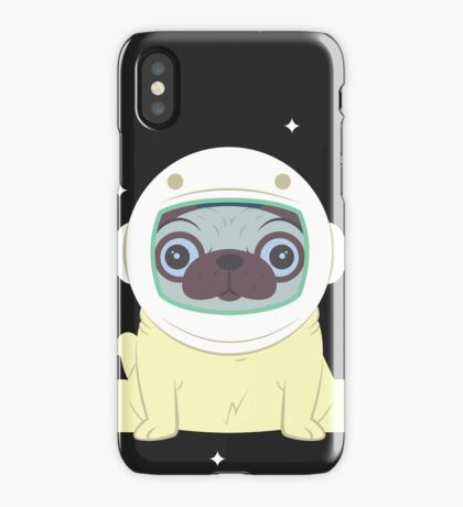 Pug in Space iPhone Case