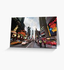 Square Cops Greeting Card