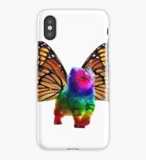 BUTTERFLY RAINBOW UNICORN CAT iPhone Case/Skin