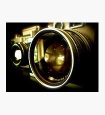 Leica Classic Film Camera  Photographic Print