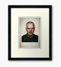Walter White - The Chemist Framed Print