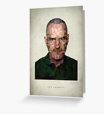 Walter White - The Chemist Greeting Card