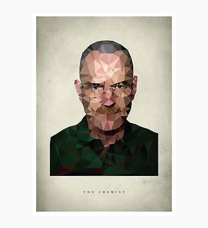 Walter White - The Chemist Photographic Print