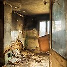 Old abandoned and destroyed living room by Mario Cehulic