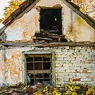 Ruined and damaged abandoned house by Mario Cehulic