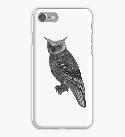 Long Eared Owl iPhone Case/Skin