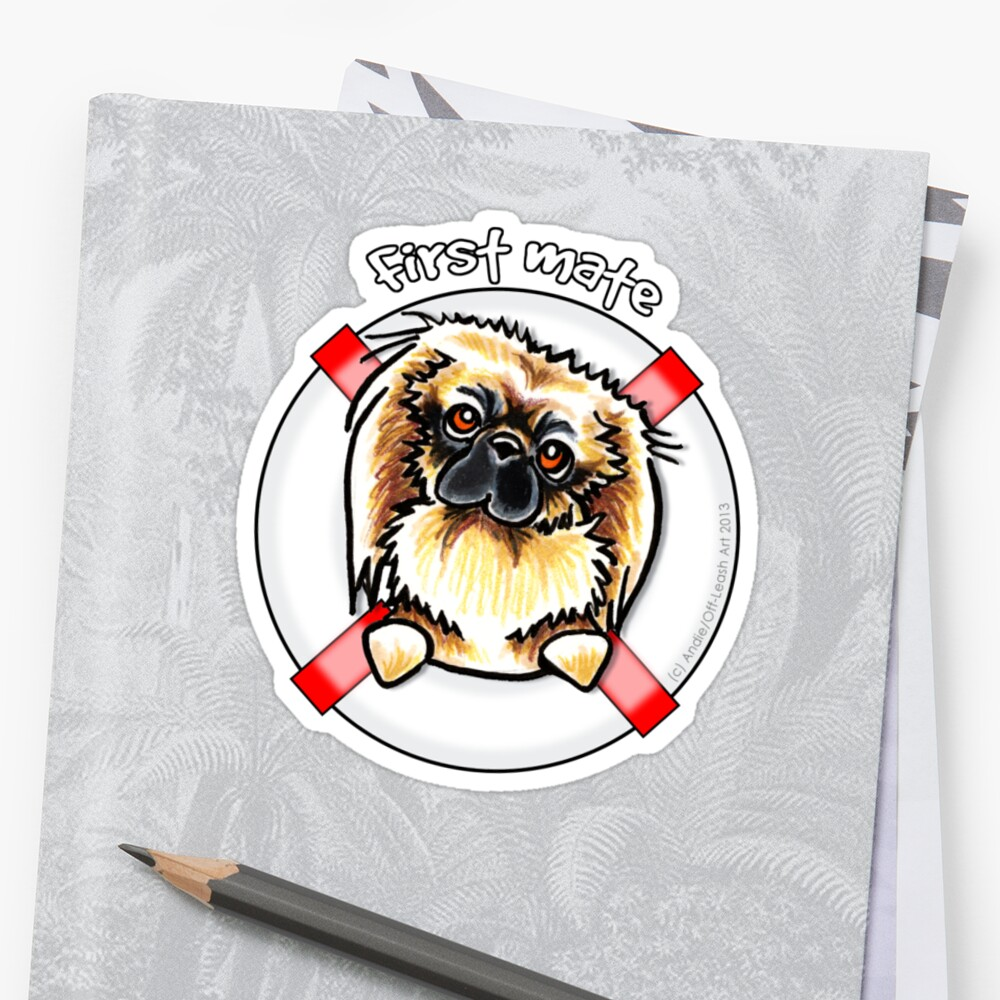 Pekingese :: First Mate by offleashart