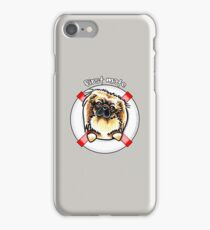 Pekingese :: First Mate iPhone Case/Skin