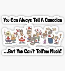 Canadian Sticker