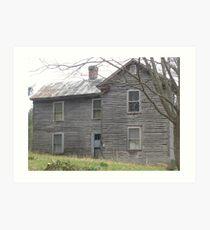 Left Empty, near Newport, Virginia Art Print