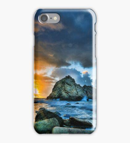 Sunset at Sugarloaf Rock iPhone Case/Skin